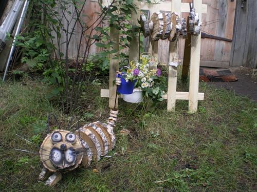 Статуэтки и фигурки для сада своими